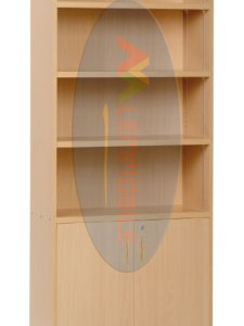 linea bibliotecas estanterias modelo 10